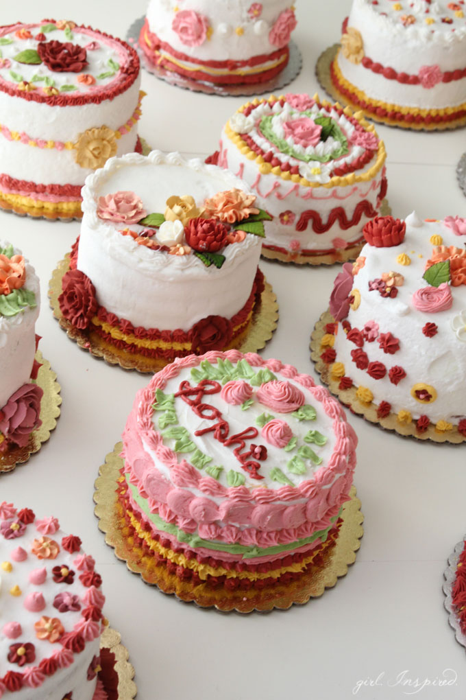 Cake Decorating Party - girl  Inspired