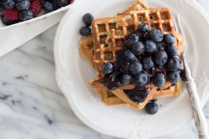 Make these hearty grain-free waffles in your Vitamix and you'll never miss traditional waffles again.