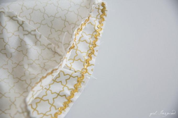 Fabric Basket Liner Sewing Tutorial - super cute hot air balloon baskets!
