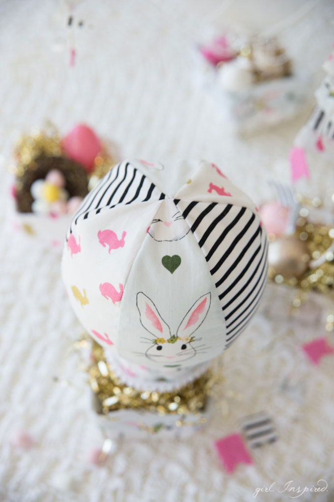 Hot Air Balloon Easter Baskets