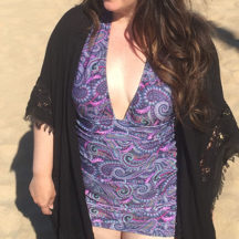 An honest review of the Bombshell Swimsuit sewing pattern.