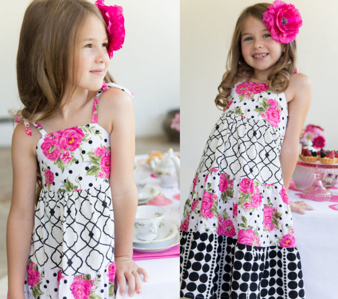 Mille Feuille Dress Pattern
