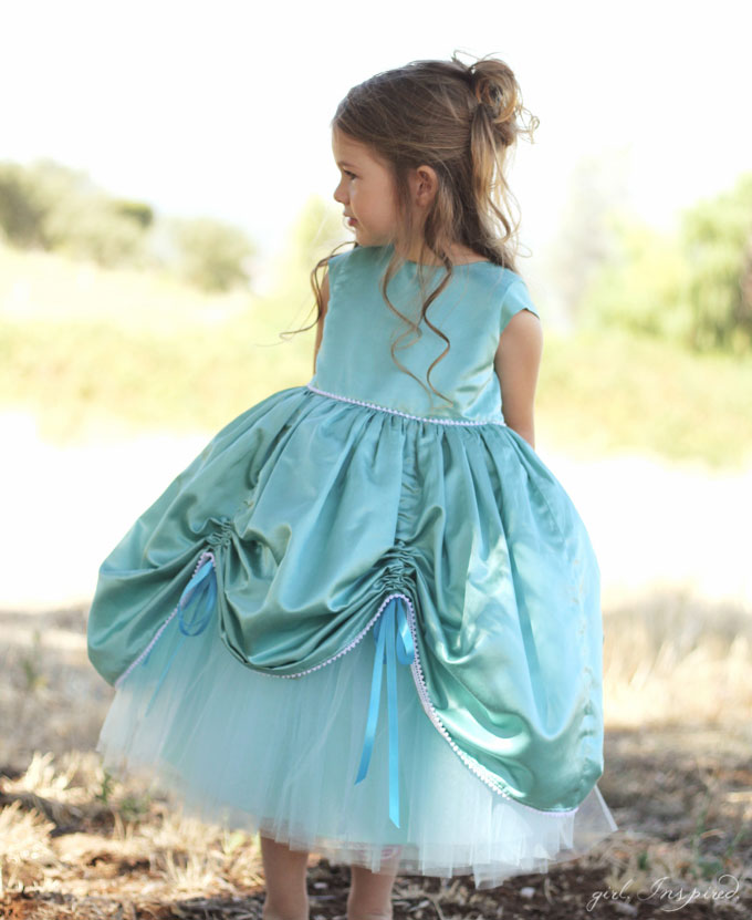 Petite Princess Dress Pattern PDF - girl. Inspired.