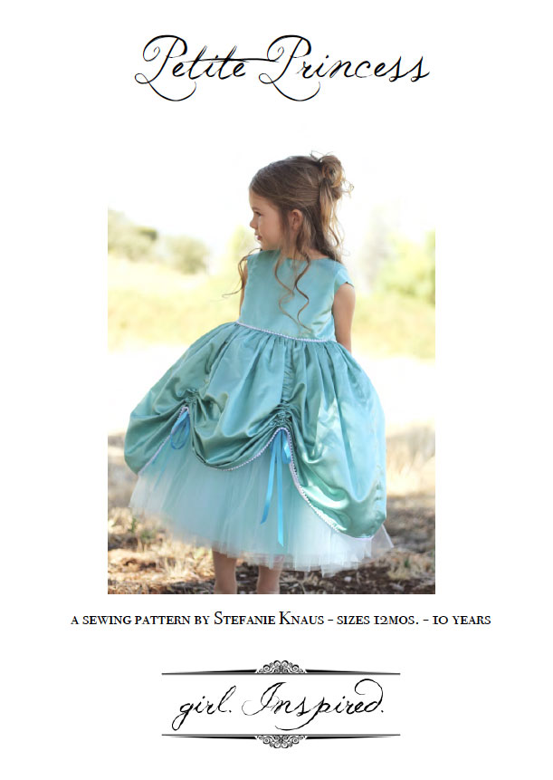She will be the belle of the ball with this princess gown! Complete sewing pattern for the Petite Princess Dress - love!!!