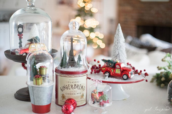 Use jars and containers from around your home to create stunning Snow Globes and Miniature Snow Scenes for Christmas!