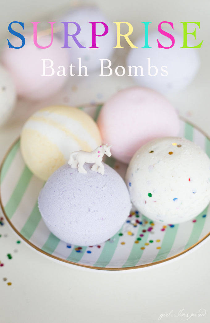 Surprise Diy Bath Bombs Girl Inspired