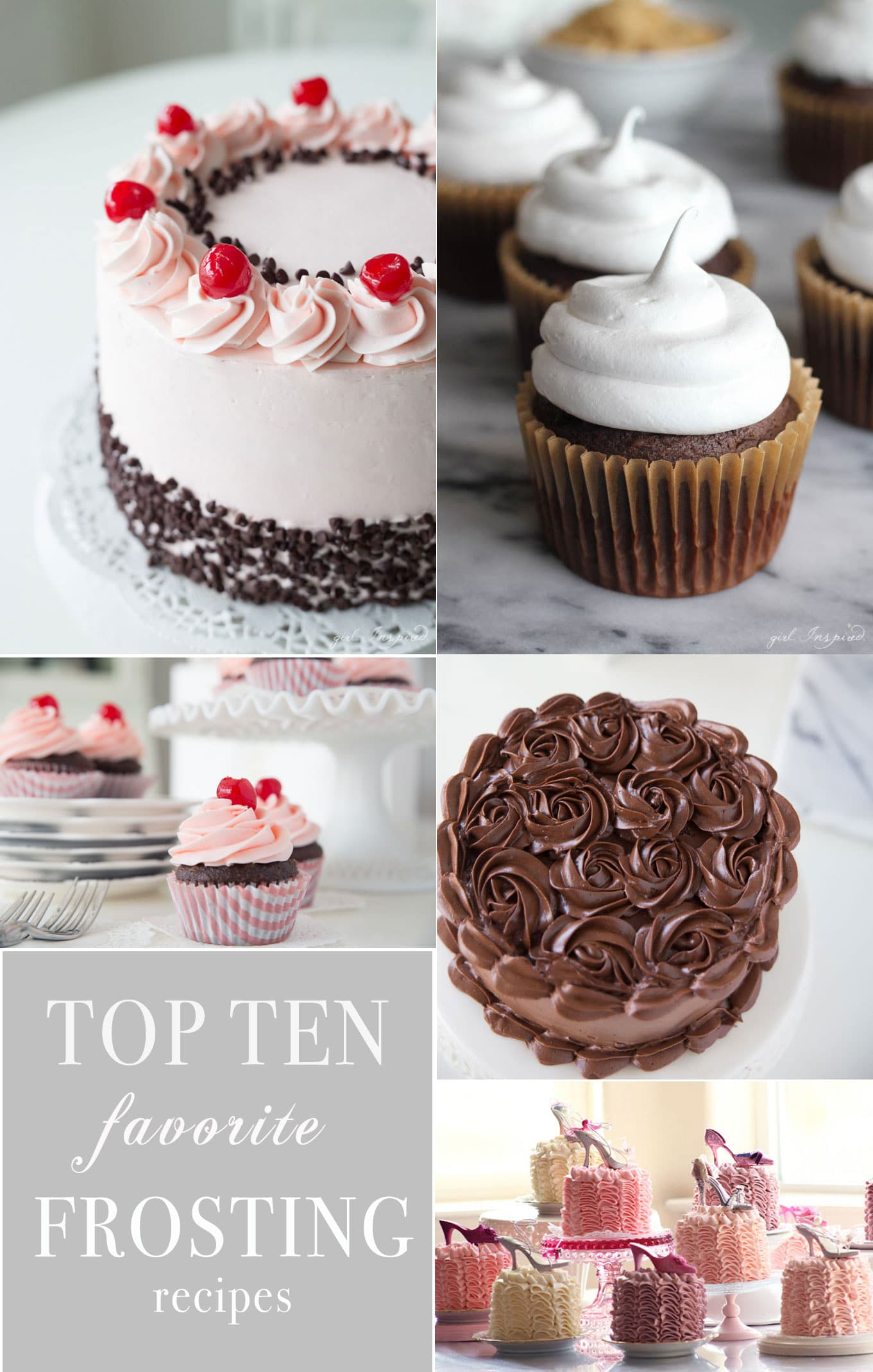 The 10 BEST Frosting recipes for every cake and style!