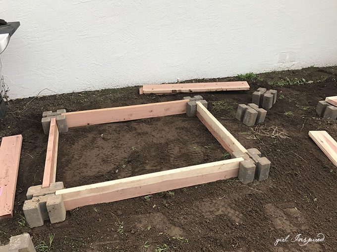 Fast And Easy Diy Raised Garden Boxes Girl Inspired
