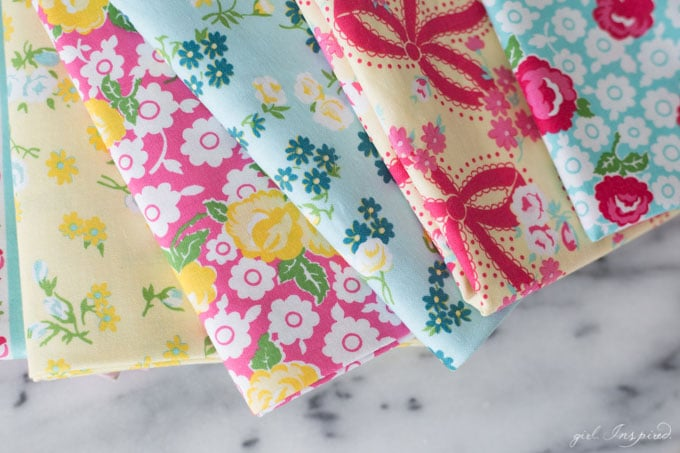 Dainty Darling Fabric Line