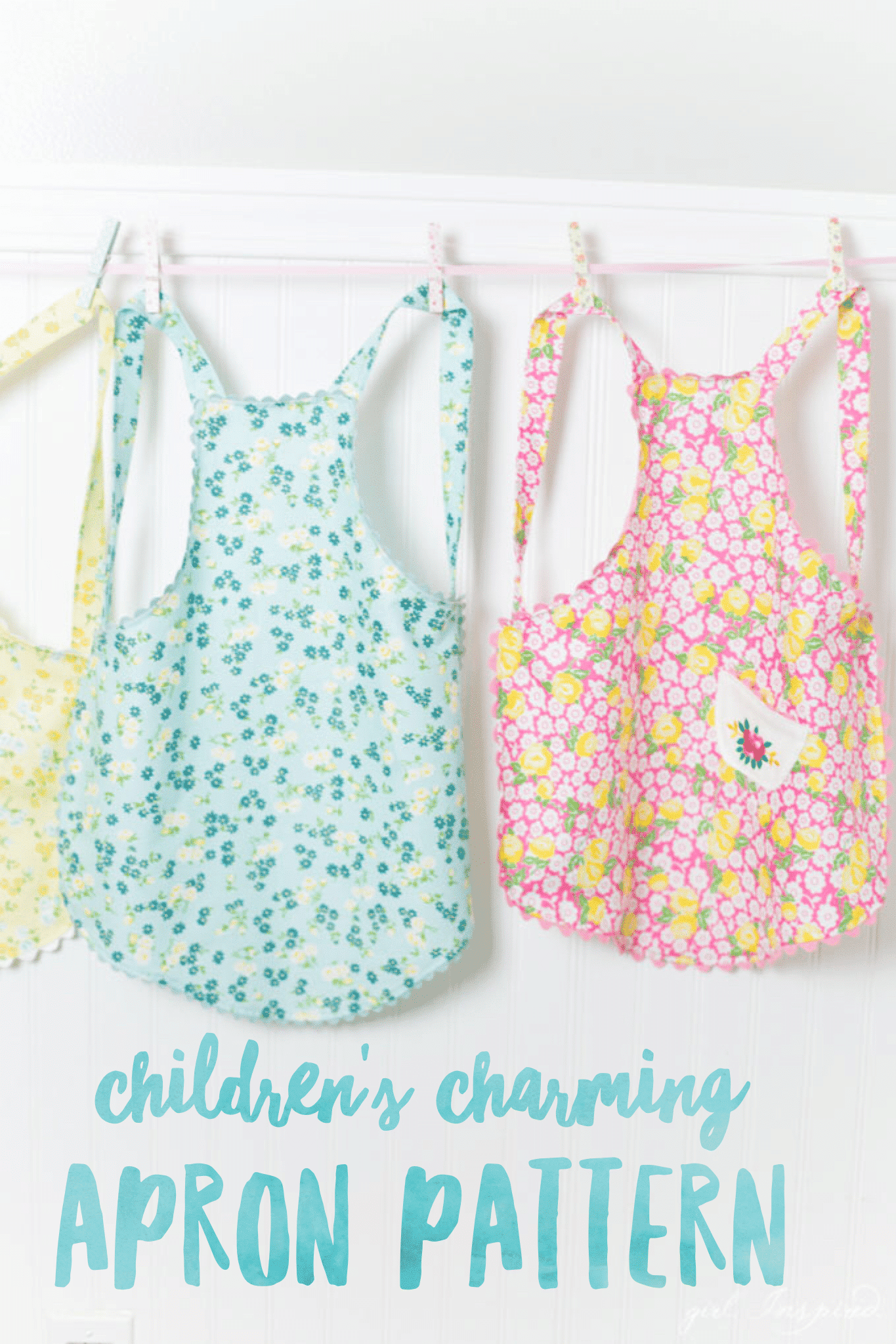 Children's Charming Apron Pattern