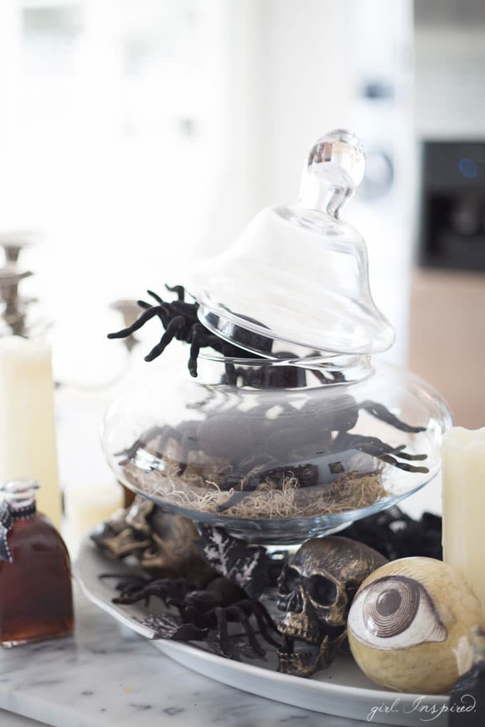 Halloween Dinner Party and House Decor