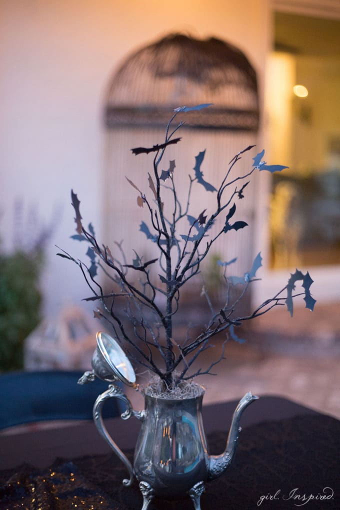 Halloween House Decor and Gathering of the Witches Party Decor