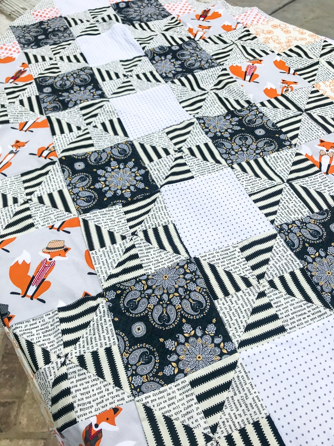 Pinwheel Quilt with Cricut Maker - Huge Timesaver using the Maker to cut allll the pieces for this quilt!