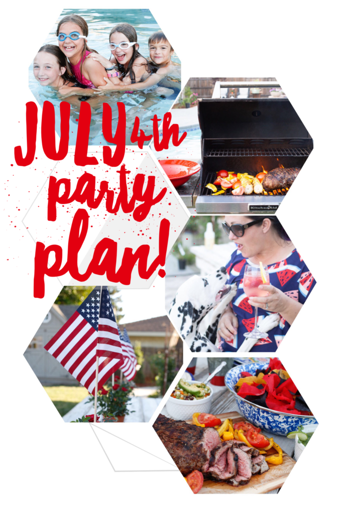 Fourth of July grilling menu and party plan!