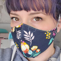 How to make a face mask using Cricut