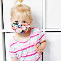 Kid mask template - see kate sew